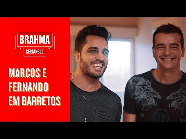 MARCOS E FERNANDO EM BARRETOS