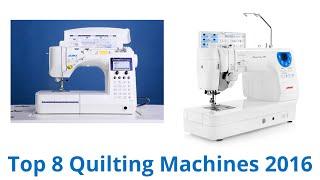 8 Best Quilting Machines 2016