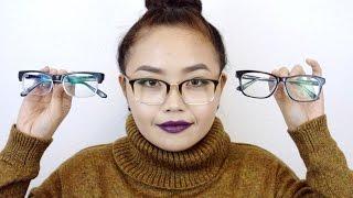 Firmoo Eye Glasses Try-On Video - maricarljanah