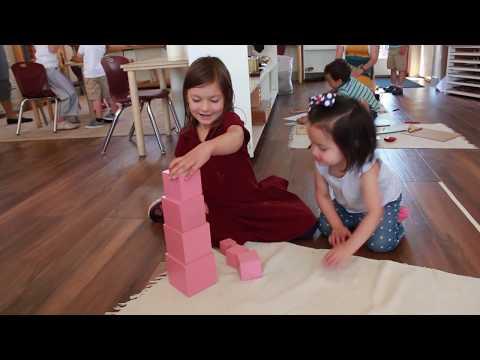 A Peek into our Montessori Classroom