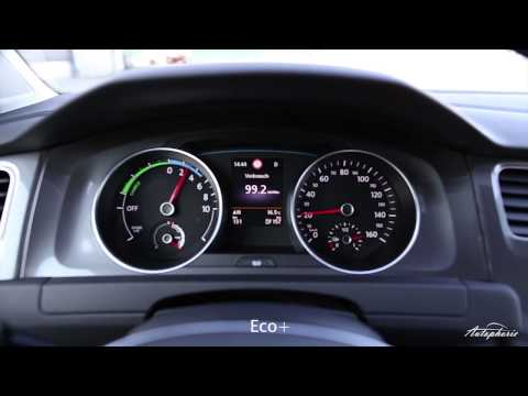 Beschleunigung / Acceleration Volkswagen e-Golf 0-50km/h / 0-32mph (Normal/Eco+)