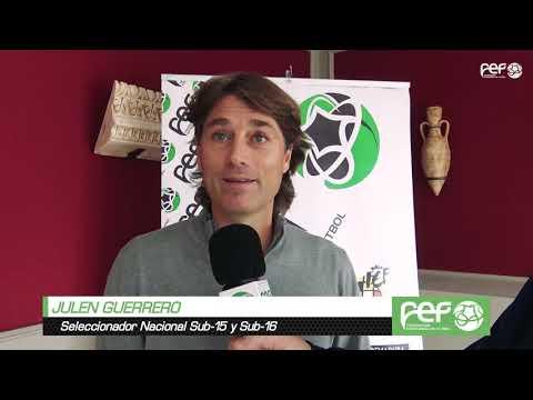 Ponencia de Julen Guerrero en Mérida en la XXI Jornada de formación de Entrenador