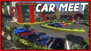 GTA 5 Roleplay - Car Meet at 'NEW' Dealership | RedlineRP #788