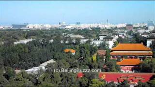Video : China : Panorama of Beijing 北京 from JingShan Park