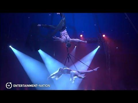 Skybound Duo - Acrobatic Silks and Hoop Duo