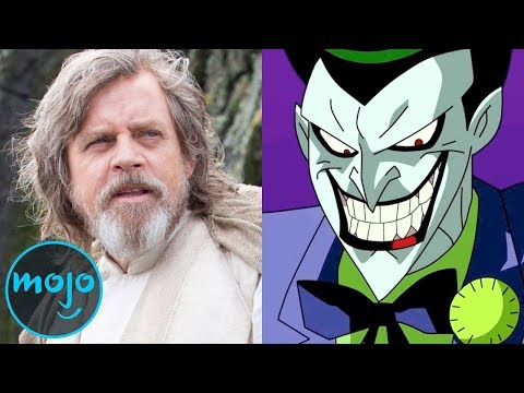 Top 10 Actors Who Became Surprisingly Good Voice Actors