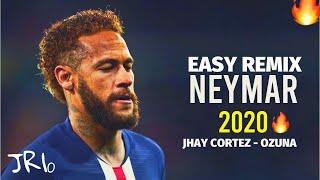 Neymar Jr ▶ Easy Remix ● Jhay Cortez, Ozuna