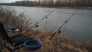 Рыбалка в марте на реке сеймер