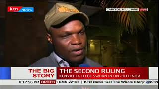 Norman Magaya reacts after the Supreme Court ruling