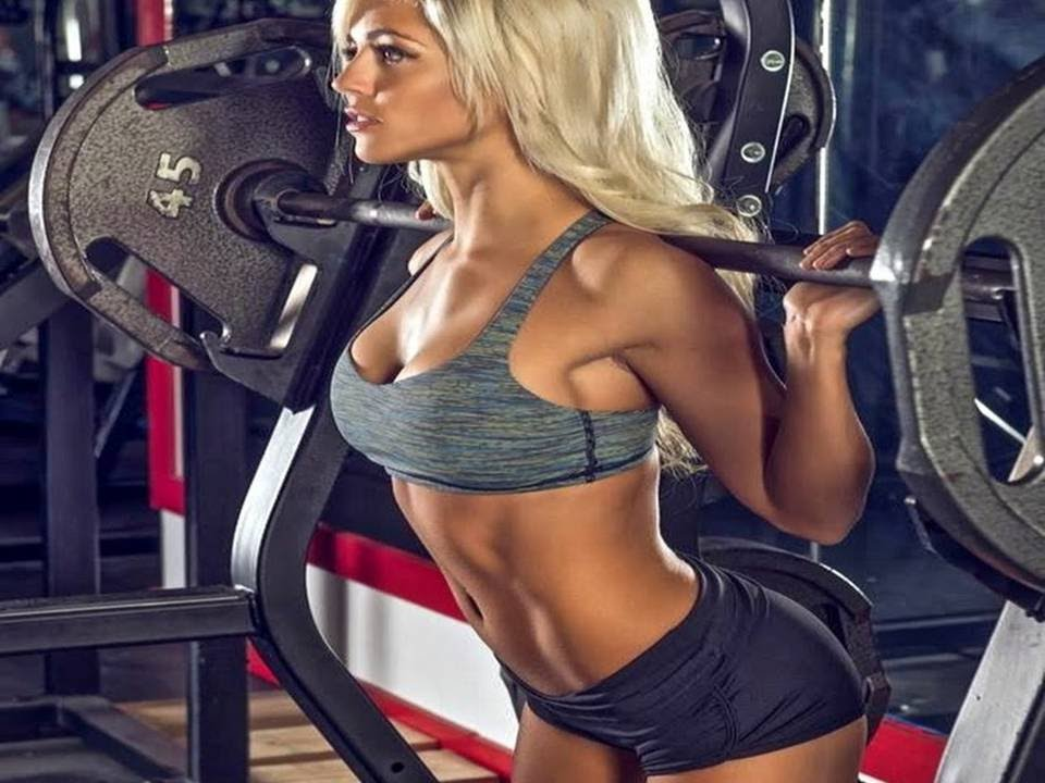 Nikki Blackketter Bikini Girls Gym Workout Routines