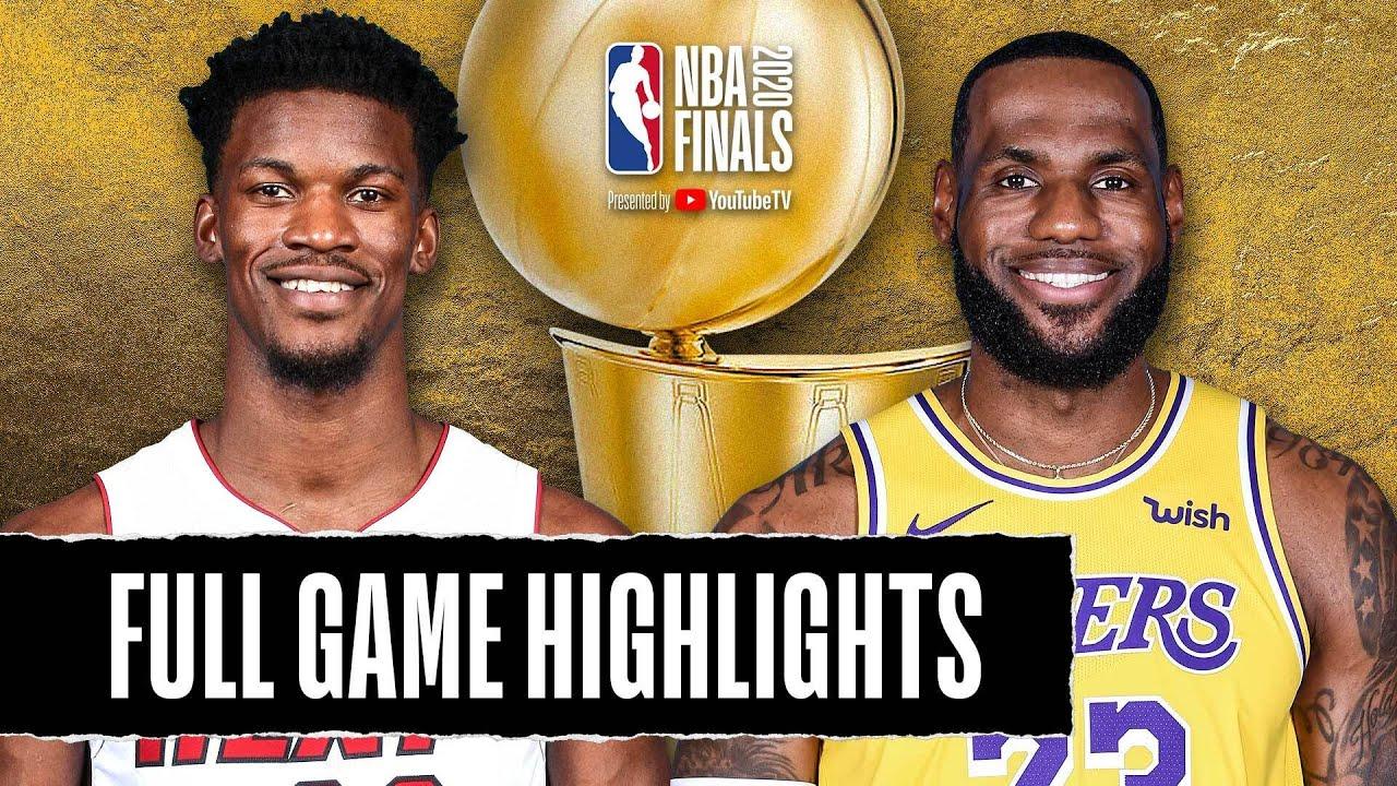 Game 2: Heat vs Lakers - NBA Finals | October 02, 2020