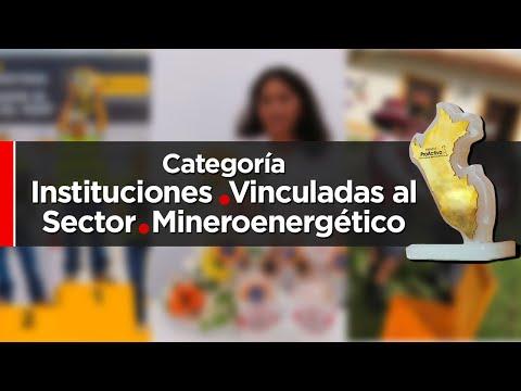 Premios ProActivo - Participantes Categoría Instituciones vinculadas al sector mineroenergético