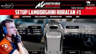 ASSETTO CORSA COMPETIZIONE   SETUP LAMBORGHINI HURACAN #1   GTro_stradivar Gameplay Español