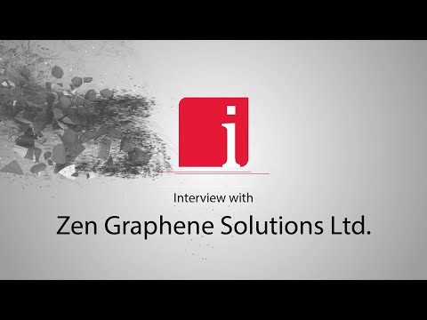 Dr Dube on the competitive advantage of ZEN Graphene's Guelph Facility for Graphene Materials Production and Development