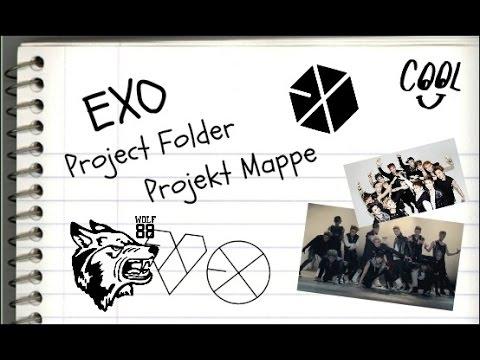 EXO Projekt Mappe / Project Folder (Triple Upload Part 1/3)