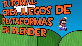 Tutorial nº 30: Crear juegos 2D plataformas. Blender Game Engine 2.71