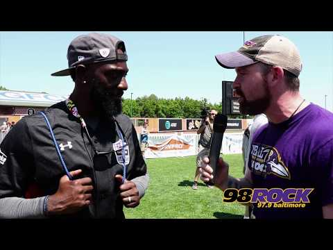 Lardarius Webb Talks To Justin