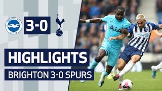 HIGHLIGHTS | Brighton and Hove Albion 3-0 Spurs