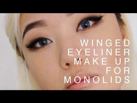 Winged Eyeliner Make Up Tutorial (Monolids)