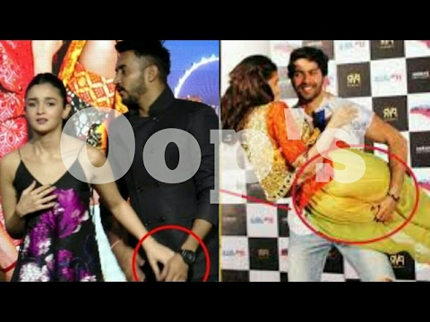 Oops Moment !alia Bhatt Touched Private Part By Mistake-Top-Ten-Art Mp3