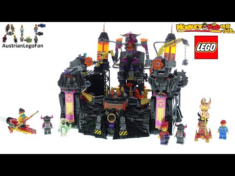 Vidéo LEGO Monkie Kid 80016 : La fonderie flamboyante