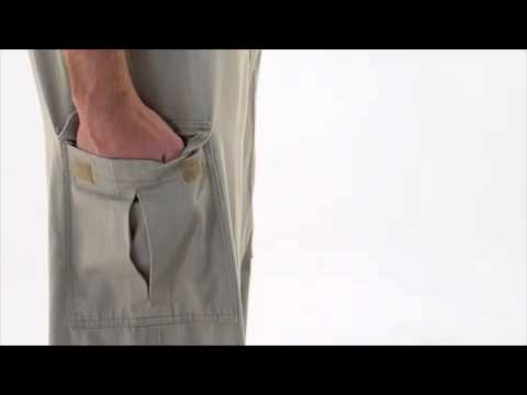 Men's Dark Navy Cargo Pants video thumbnail