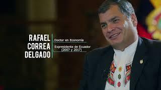 Revista Académica con Rafael Correa como Director
