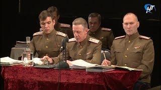 Состоялась сценическая реконструкция открытого трибунала над нацистскими военными преступниками