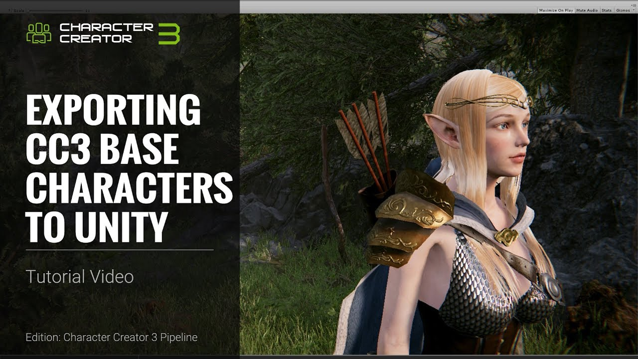 Character Creator - Tutorials & Leaning Resources