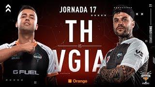 Team Heretics VS Vodafone Giants | Jornada 17 | Temporada 2018/2019