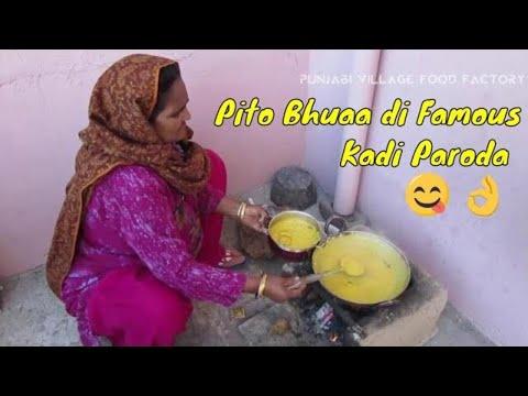 Kadhi Pakora Recipe ❤ Pakoda Kadhi Recipe ❤ Grandma Style Recipe ❤ Punjabi Village Food Factory