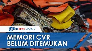 Casing CVR SJ182 Ditemukan, Tim SAR Masih Belum Temukan Memori CVR Visibilitas Air Terbatas
