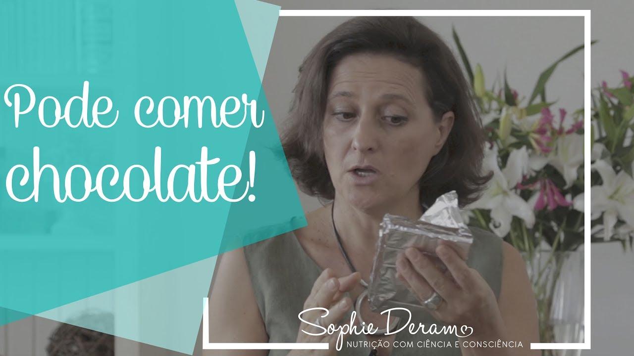 Pode comer chocolate! Faça uma prática de comer consciente