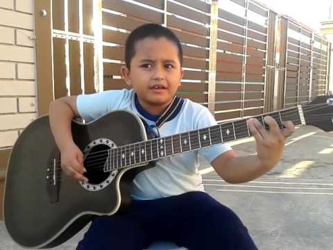 "Talented kid plays ""Nothing Else Matters"" by Metallica"