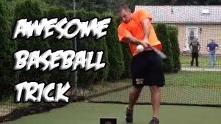 Смотреть онлайн Супер трюки с бейсбольной битой