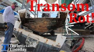 Cutting Out A Boat Transom - Part 2!