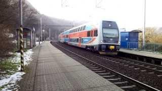 preview picture of video 'Vlaky - Roztoky Žalov'