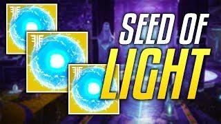 DESTINY 2 FORSAKEN - How To Get All The Seed of Light So FAR....