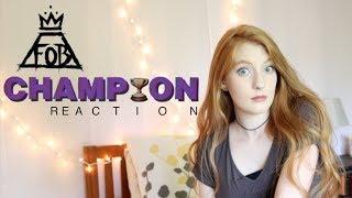 Fall Out Boy - Champion Reaction 🌊💜