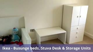 Ikea Busunge, Stuva, Pax & Nockeby - Assembled in Langland, Swansea