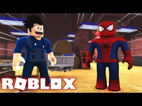 Roblox Spider Man Homecoming Shirt - Factory Of Heroes In Roblox I Turned Spider Man Meet