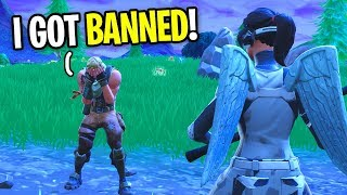 Kid Gets BANNED On Fortnite for SELLING & BUYING Accounts! (He THREATENED to HACK His Friend!)
