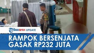 Kawanan Perampok Satroni Kantor Ekspedisi di Banten, Gasak Rp232 Juta, Satu Karyawan Tertembak