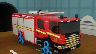 Learn Shapes & Colors for Children with Police Vehicles Change Wheels   3D Shapes Toys Cars for Kids