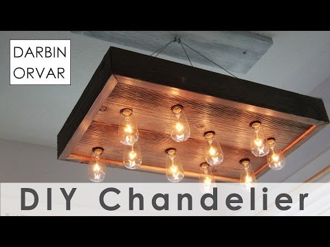 Build Your Own Old-Fashioned Looking Chandelier For Less Than $100