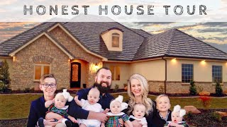 Untidy House Tour - A REAL Look at Our Home With QUINTUPLETS Plus TWO