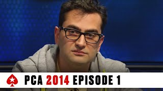 PCA 2014 Poker Event - Main Event, Episode 1 | PokerStars.com