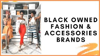 Black Owned Fashion & Accessories Brands THAT ARE 🔥 | MONROE STEELE