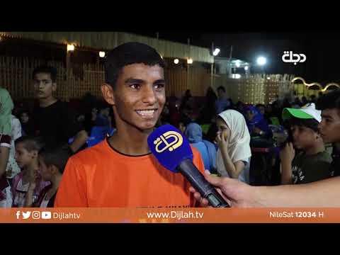 شاهد بالفيديو.. سماور   توزيع لوازم مدرسية على ابناء الشهداء والمتعففين في الحلة