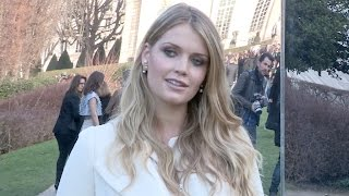 Lady Kitty Spencer at Dior Haute Couture Fashion Show in Paris